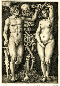 Adam and Eve and the Temptation