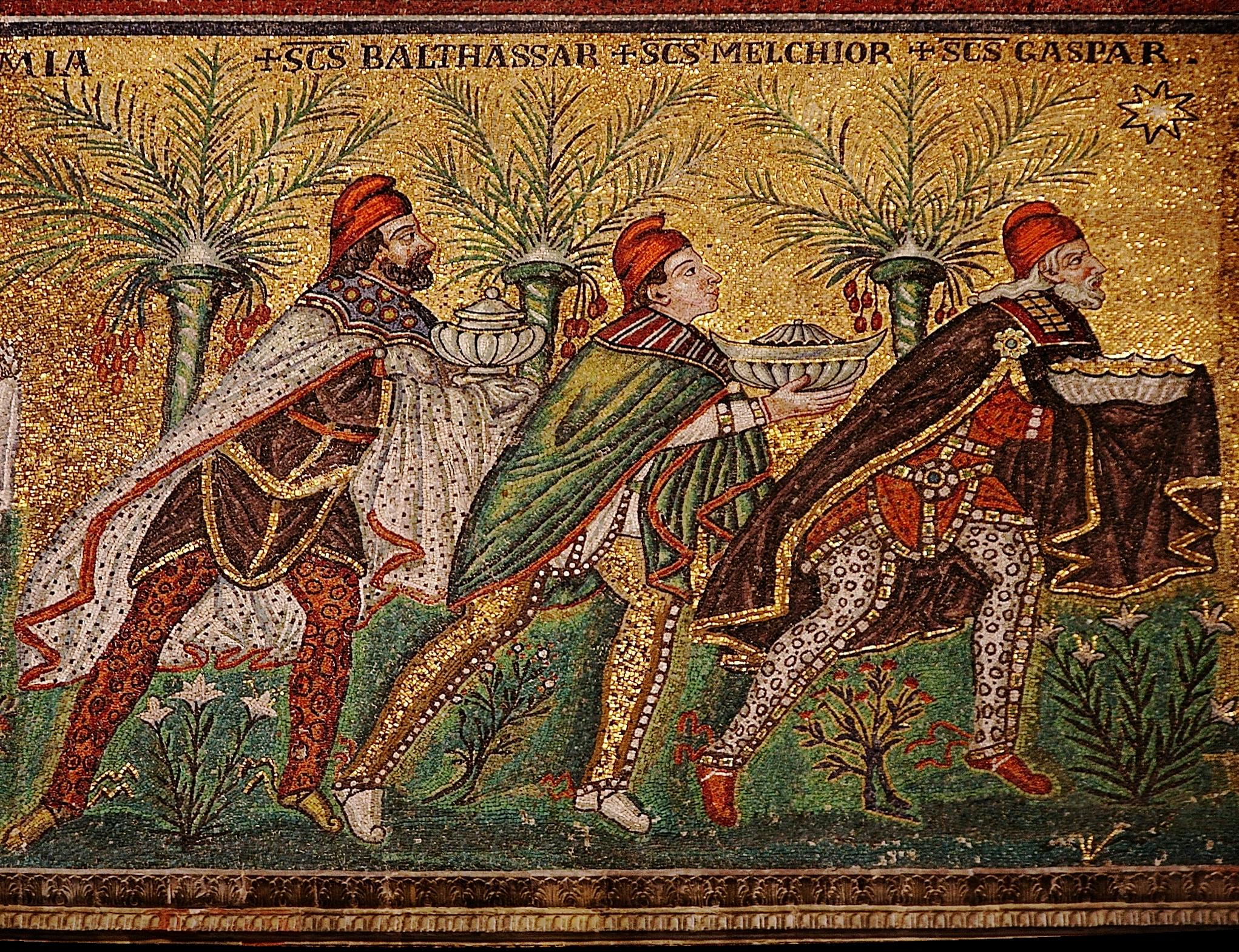Magi mosaic
