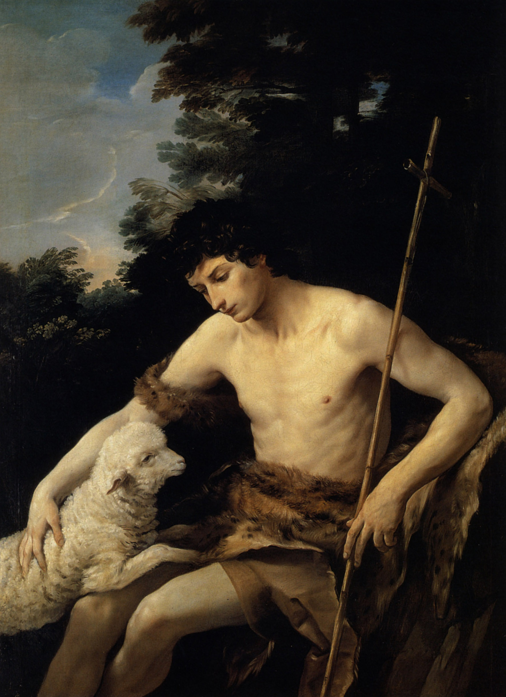 St. John the Baptist in the Wilderness by Guido Reni