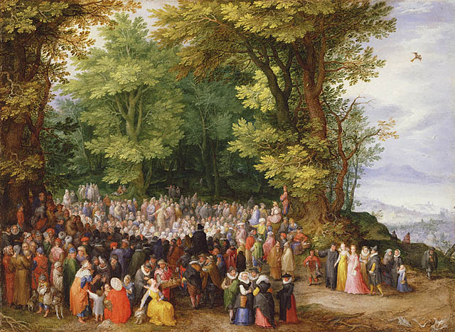 Jan Brueghel the Elder The Sermon on the Mount