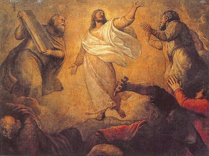 Titian's Transfiguration (detail)