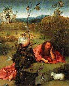 St. John in the Wilderness Hieronymus Bosch
