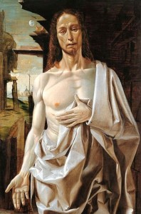 The Resurrected Christ by Bramantino (1490)