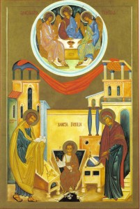The Holy Family is and every human family should be an image of the Blessed Trinity