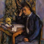 """Paul Cezanne """"Young Man and Skull"""" (1898)"""