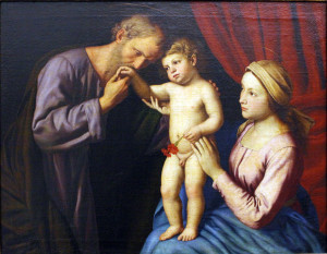 "Giovanni Battista ""The Holy Family"""
