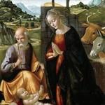 """""""The Nativity"""" by Domenico Ghirlandaio (1492)"""