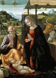 """The Nativity"" by Domenico Ghirlandaio (1492)"