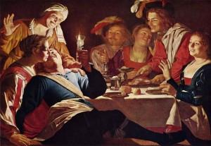 "Gerard van Honthorst ""Prodigal Son"" (1623)"