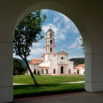 Chapel of Our Lady of the Most Holy Trinity at Thomas Aquinas College in Ojai, CA