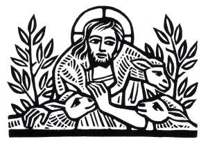 The Good Shepherd by Ade Bethune