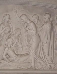 "Francis Stevens ""Raising the Widow's Son"" (1781-1823) Kenton Church of All Saints"