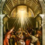 "Titian ""Pentecost"" 1545"