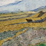 "van Gogh ""Enclosed Field with Ploughman"" (1889)"