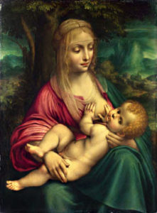 As nurslings, you shall be carried in her arms, and fondled in her lap; as a mother comforts her child, so will I comfort you.