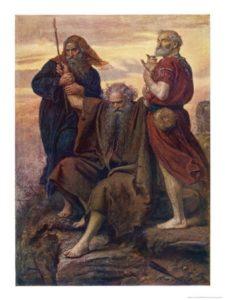 John Everett Millais Moses' perseverance
