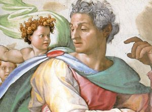 Isaiah by Michelangelo